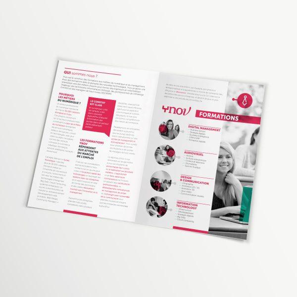Ynov leaflet inside page, vanessa-mathias