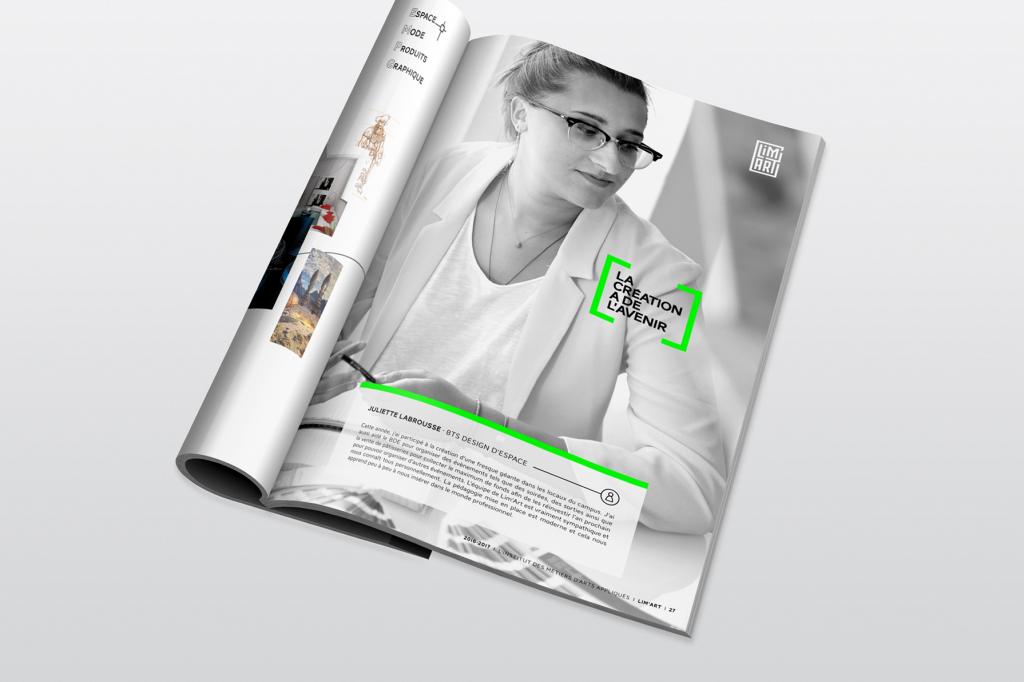 Limart, advertising paper magazine