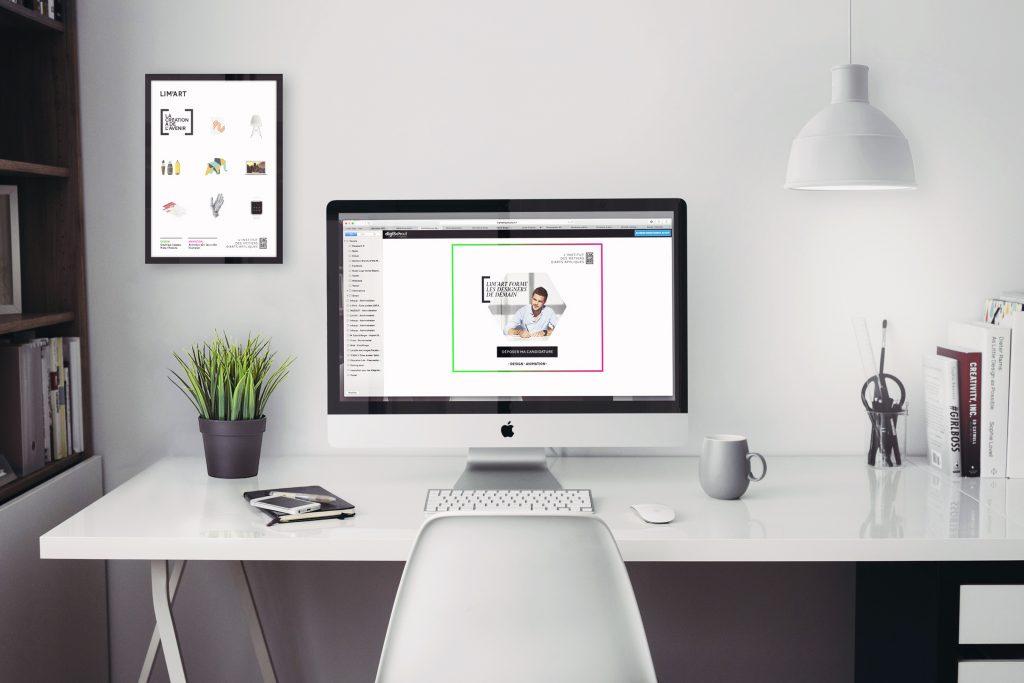 Limart, web campaign - display