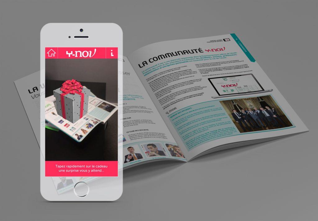 Virtual Reality, Ingésup brochure