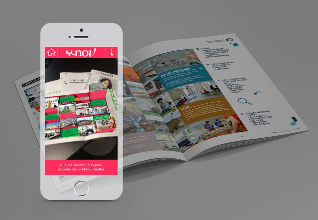 Virtual Reality, Lim'Art, Infosup brochure