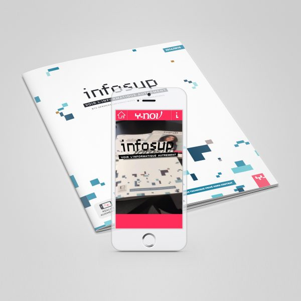 Virtual Reality App, Infosup brochure